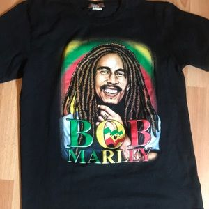Other - VINTAGE BOB MARLEY GRAPHIC TEE